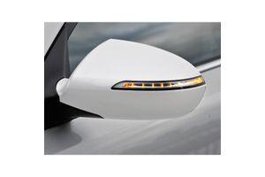 Speedwav Mirror Covers With Indicator Set Of 2 WHITE
