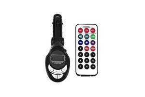 ACE Car Mp3 FM Modulator Transmitter With USB & Memory Card Slots