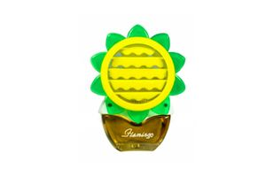 Beautiful Feel Fresh Sun Flower Refillable Lemon Perfume for AC Vents
