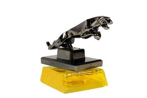 Speedwav Classy Jaguar Refillable Car Perfume - Charming Yellow