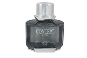 Concept Car Air Freshener Perfume 70ml-Black