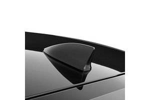 Speedwav Decorative Fin Shaped Car Antenna - Black