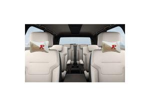 Speedwav Designer Car Seat Neck Cushion Pillow - Beige Colour
