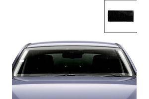 Front Roller Sunshade - Black