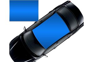 Speedwav Car Roof Glossy Wrap Sheet Blue