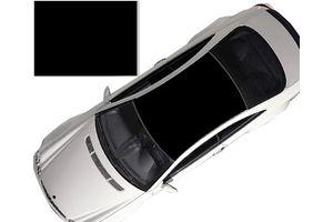 Speedwav Car Roof Glossy Wrap Sheet Glossy Black