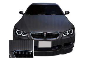 Speedwav Car Carbon Design Wrap Sheet Matt Black