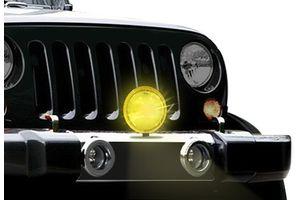 HELLA 005750511 Comet 500 Driving Lamp - Yellow Lens