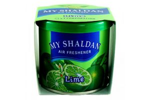 My Shaldan Gel Car Air Freshener perfume - Lime