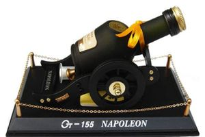 Napoleon Canon Shaped Air Freshener Refillable Perfume for Car