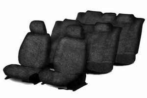 Speedwav Sweat Control Black Towel Seat Covers