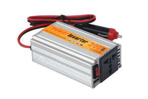 Speedwav 200W DC to AC Car Power Inverter with USB for Mobile & Laptop Charging