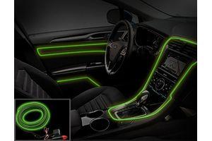 Speedwav Car Interior Ambient Wire Decorative LED Light Lemon