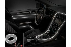 Speedwav Car Interior Ambient Wire Decorative LED Light White