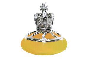 Royal Crown Refillable Car Perfume - Yellow