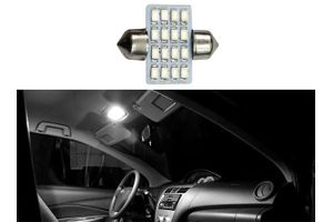 Speedwav 16 LED SMD Car Dome Ceiling Roof Interior Reading Light