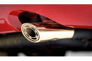 Speedwav G142 Turbine Oval Car Exhaust Silencer Tip Golden