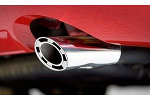 Speedwav A142 Turbine Oval Car Exhaust Silencer Tip Chrome