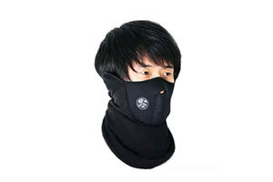 Speedwav Bike Riding Neoprene Half Cover Face Mask - Black