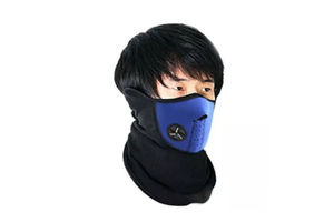 Speedwav Bike Riding Neoprene Half Cover Face Mask - Blue