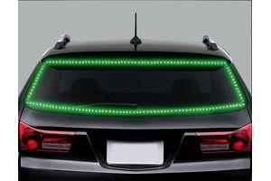 Speedwav 5 Meters Waterproof Cuttable LED Lights Strip Roll - Green