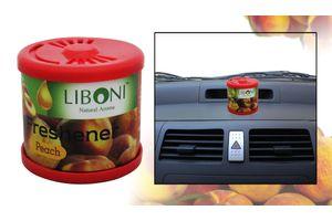 Liboni Natural Aroma Car Air Freshener / Perfume-Peach
