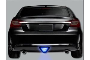 Speedwav Blue 12 LED Brake Light with Flasher