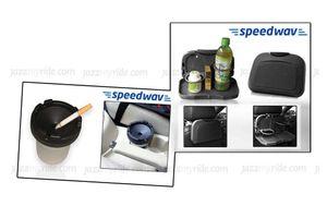 Combo of Speedwav Car Dining Tray-Black & Portable Cigarette Ashtray