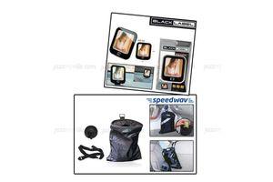 Combo of Speedwav Car Trash/Dust Bin-Bag & Black Label Photo Frame