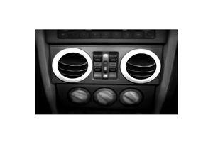 Chrome A/C Vent Trim For Nissan Sunny (2011-14)