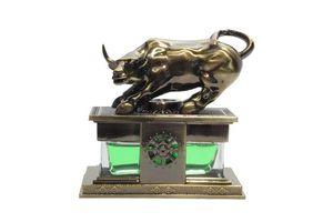 Speedwav Feng Shui Bull Perfume For Car - Green