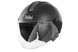 Steelbird Bike Riding Helmet - SB-33 Eve Dashing X Black
