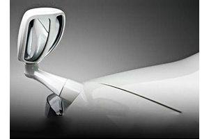 Speedwav Front Fender SUV Wide Angle Mirror-White