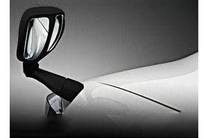 Speedwav Front Fender SUV Wide Angle Mirror-Black