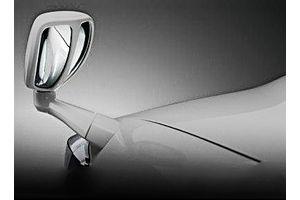 Speedwav Front Fender SUV Wide Angle Mirror-Silver