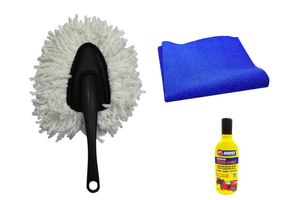 Speedwav Car Cleaning Kit Small Microfiber Duster + Abro Shampoo + Sponge
