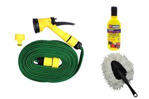 Speedwav Pressure Spray Gun 10meter+Abro Shampoo+Small Microfiber Duster