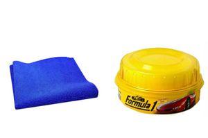 Formula 1 Carnauba Car Wax Polish 230gm + Speedwav Microfiber Cloth