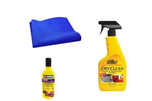 Formula 1 Car Cleaning Kit Upholstery 592ml + Magic Sponge + Abro Shampoo