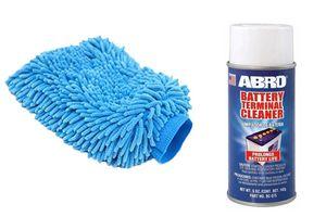 Speedwav Car Cleaning Kit Abro Battery CleanerBC-575(142gm)+Microfiber Glove
