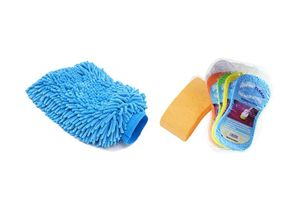 Speedwav Car Cleaning Kit Abro Super Sponge CS-168 +Microfiber Glove