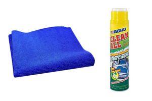 Speedwav Car Cleaning Kit Abro Foam Cleaner FC650(650ml)+Microfiber Cloth