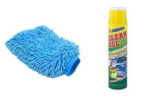 Speedwav Car Cleaning Kit Abro Foam Cleaner FC650(650ml)+Microfiber Glove