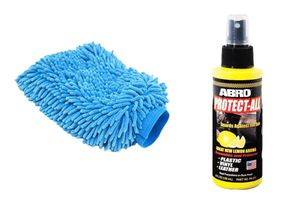 Speedwac Car Cleaning Kit Abro Protect All PA312 + Microfiber Glove Mitt