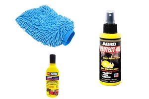Speedwav Car Cleaning Kit Abro PA312+Microfiber Glove+Abro Shampoo