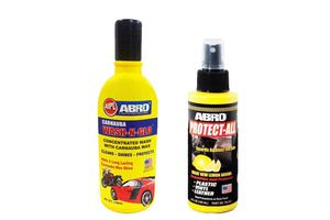 Speedwav Car Cleaning Kit Abro Shampoo + Protect All PA312