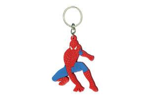 Spiderman Rubber Keychain