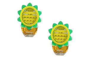 Beautiful Feel Fresh Refillable Lemon Perfume for AC Vents Set of 2