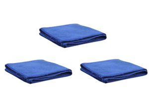 Speedwav Multi Purpose Microfiber Dry Wet Cleaning Polishing Cloth Set of 3