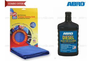 ABRO Diesel Injector Cleaner DI-532 946 ml+Microfiber Cloth